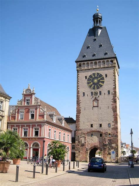 The Most Beautiful Buildings in Speyer, Germany