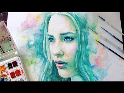Speed Painting Watercolor : Spectrum - YouTube