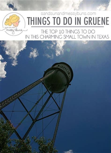 10 Things To Do In Gruene Texas | Sand Sun & Messy Buns