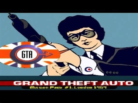 Grand Theft Auto: London, 1969 Game Review (PS1) - YouTube