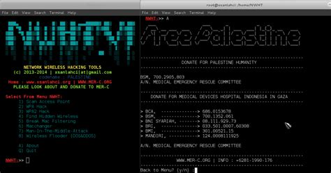 NWHT - Network Wireless Hacking Tools