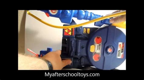 Kenner the Real Ghostbusters Proton Pack toy 1984 - YouTube