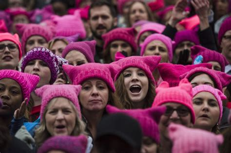 Some say Women's March pink hats aren't inclusive