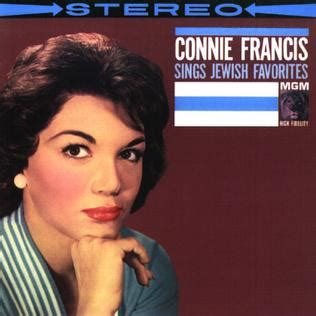 Connie Francis Sings Jewish Favorites - Wikipedia