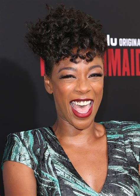 Samira Wiley outstanding as Moira in The Handmaid's Tale