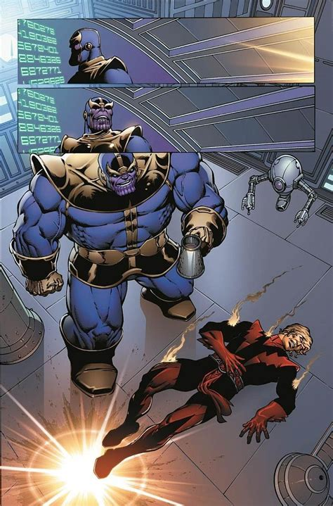 Preview Of Thanos: The Infinity Revelation OGN By Jim Starlin