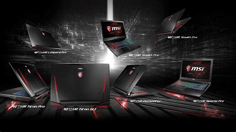 MSI Teases Eleven Upcoming VR Ready Gaming Laptops