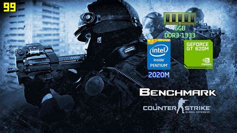 Counter Strike Global Offensive Benchmark Notebook ( Intel
