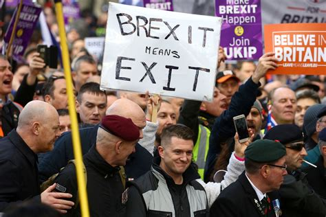 Police braced for numerous pro-Brexit protests in London