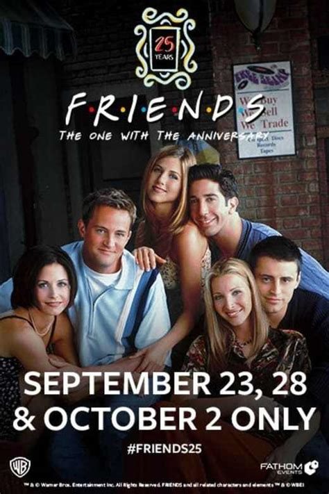 Friends 25th Anniversary Events & Merch: How to Celebrate
