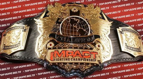 IMPACT FIGHTING MMA CHAMPIONSHIP | Top Rope Belts