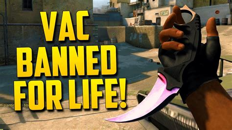VAC BANNED! - CS:GO Funny Moments in Competitive - YouTube