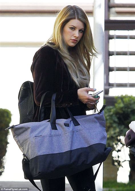 Louis Tomlinson's ex Briana Jungwirth spends day with baby