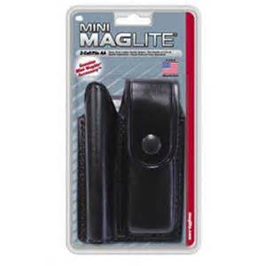 MagLite Leather Holster for Mini MagLite AA Flashlight and