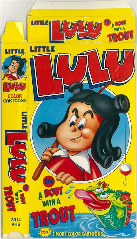 The VCR from Heck, LITTLE LULU: A BOUT WITH A TROUT