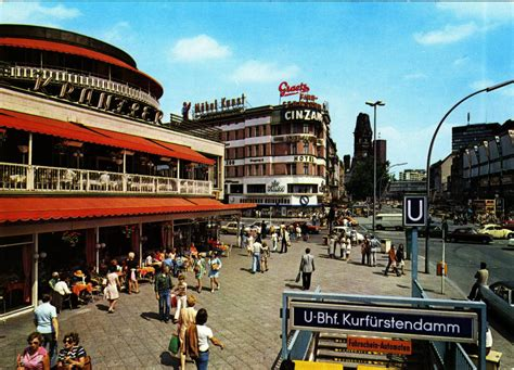 West Berlin Postcards from the 50s, 60s and 70s   Earthly