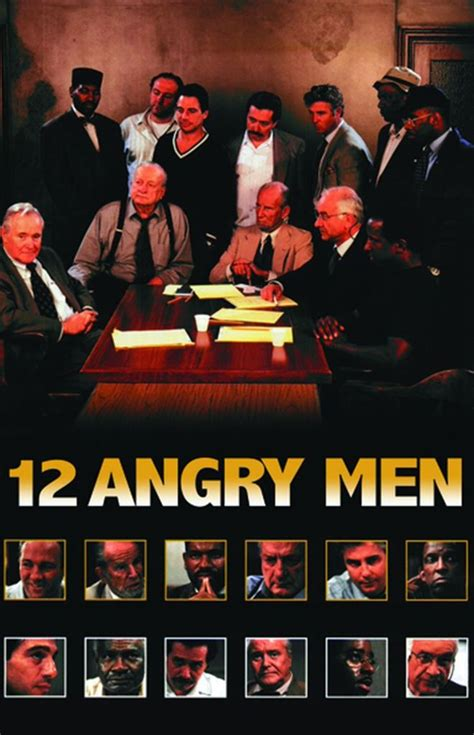 12 Angry Men Cast and Crew | TV Guide