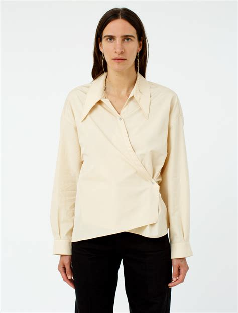 Lemaire Twisted Shirt   Voo Store Berlin   Worldwide Shipping