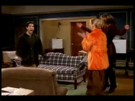 FRIENDS - Funny jumping Ross - YouTube