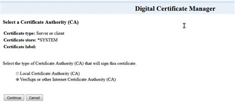 Certificate Signing Request Instructions for IBM AS 400