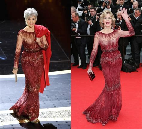Jane Fonda Rewears Red Gown From 2014 to the 2020 Oscars
