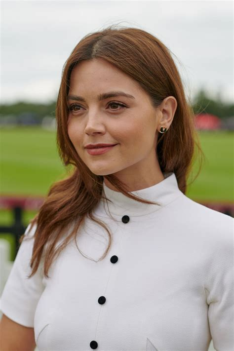 Jenna Coleman - Cartier Queens Cup Polo in Windsor 06/17/2018
