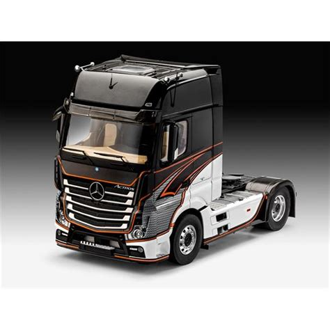 Revell 07439 Mercedes-Benz Actros MP4 1:24, LKW´s, Busse