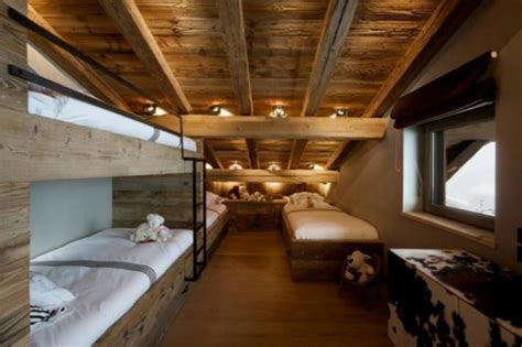 Rustic Chalet of Natural Wood In Megeve – French Alps by
