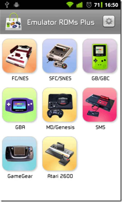 Search And Download Classic Game Console Emulator ROMs For