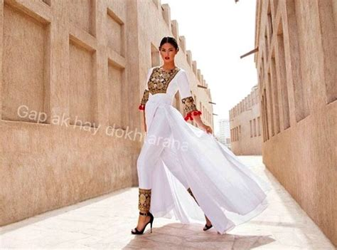 Afghan #style #outfits … | Afghanische kleider