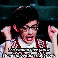 Standing Ovation Glee GIF - Find & Share on GIPHY