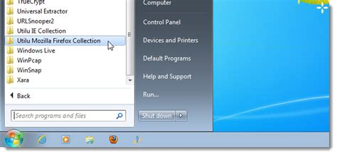 How to Reorganize the All Programs Section on the Windows
