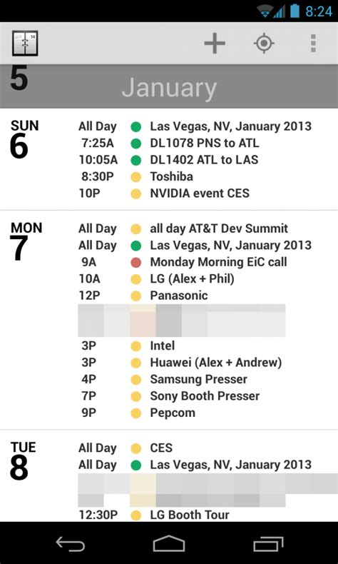 Agenda for Android: The iOS calendar favorite makes the