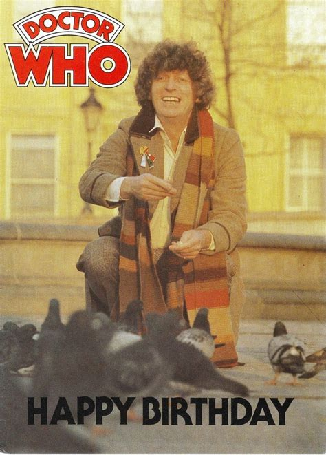 Tom Baker Dr Who Merchandise: Greetings Cards, Great