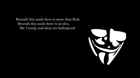 V FOR VENDETTA QUOTE WALLPAPER HD image quotes at