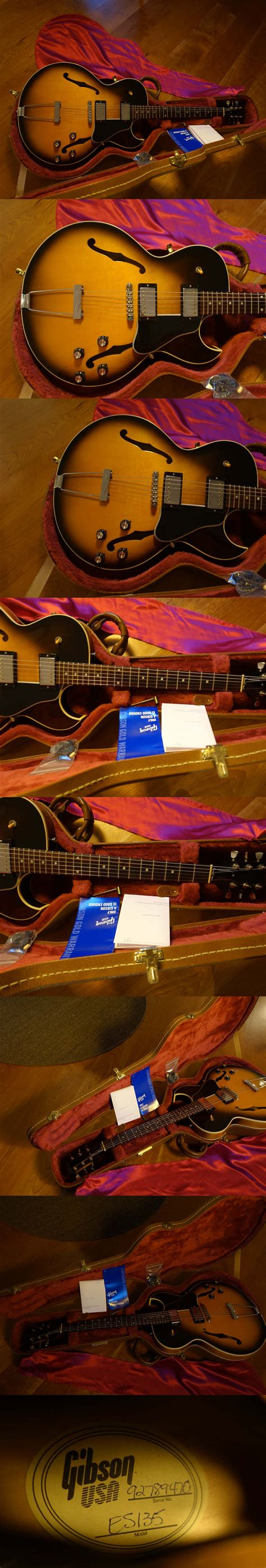 1999 Gibson ES-135 (Limited Edition w/ PAFs)