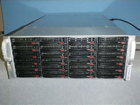Inexpensive Pre-owned 24-bay 4U Storage Servers Available