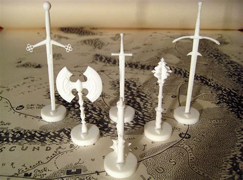 Shapeways Blog - Seven Days Of Games: 3D Printed RPG and