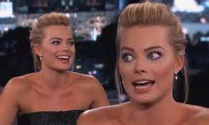 Margot Robbie lied to family about sex scenes with