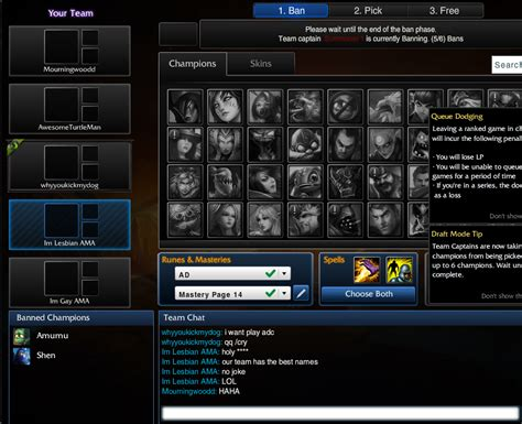 What is the funniest Summoner name you've seen