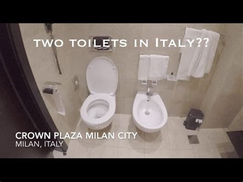 WHY ARE THERE TWO TOILETS IN ITALY? - YouTube
