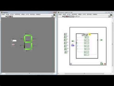 Labview FND/7segment example - YouTube