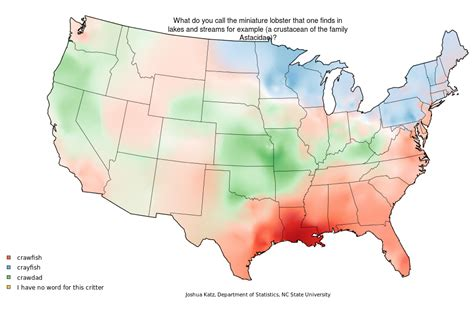How Do You Say Pecan? Mapping Food Dialect Trends Across