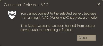 steam - What does a Valve Anti-Cheat (VAC) notification
