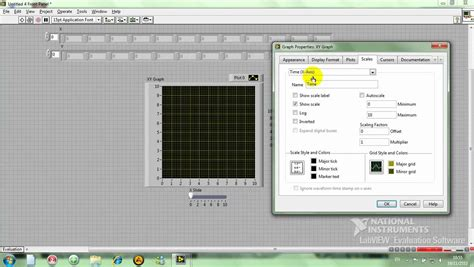 LabVIEW 3 1 XY Graph - YouTube