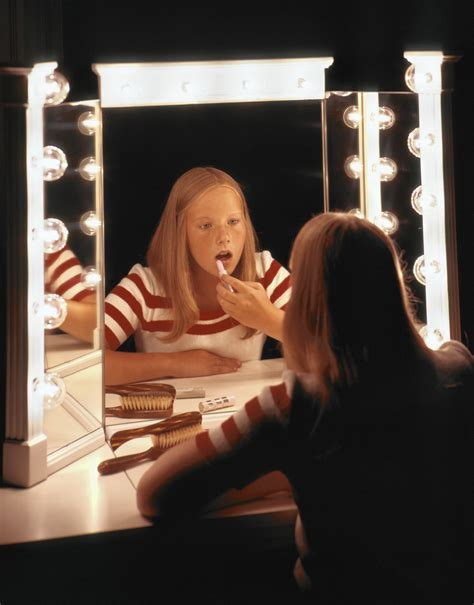 My 10-year-old wears makeup, and I'm (mostly) fine with it
