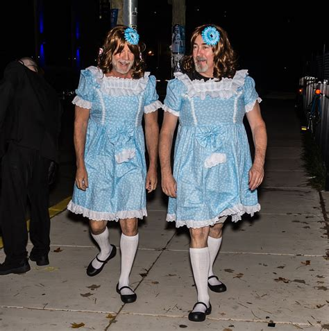 Bruce Willis' 'Twins From The Shining' Halloween Costume