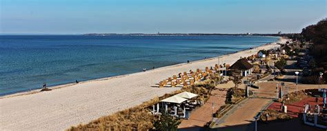 Beach camping on the Baltic Sea