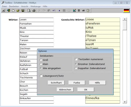 Toolbox - Discovery Educational Software