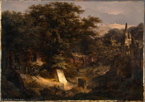 Cemetery in a Wood | Louvre Museum | Paris